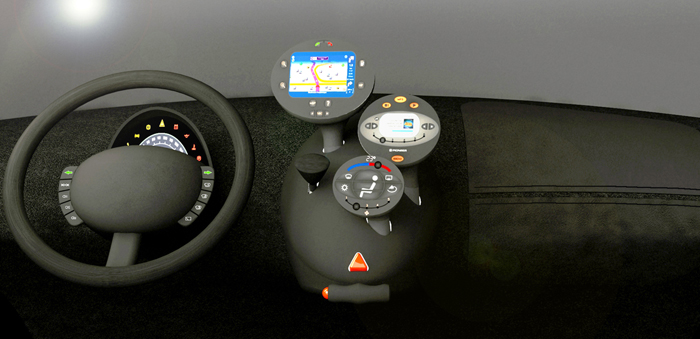CAR DASHBOARD - 2004 - 01