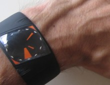 U_flat | OLED wrist watch