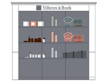 Villeroy & Boch licensee | point of sales concept & guidelines