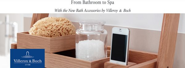 Villeroy & Boch | bath accessories finally featured on www.villeroy-boch.com